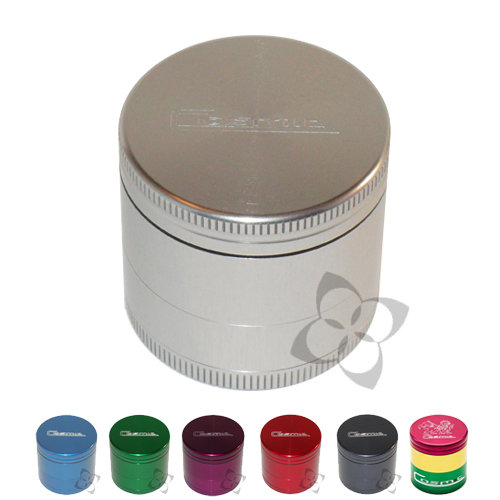 Cosmic Case Grinder - Mini Triple Chamber - cosmic_mini_4pc_anodize