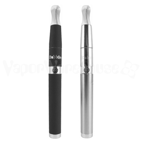 Vaporbrothers Dabbler Vape Pen in Black and Silver