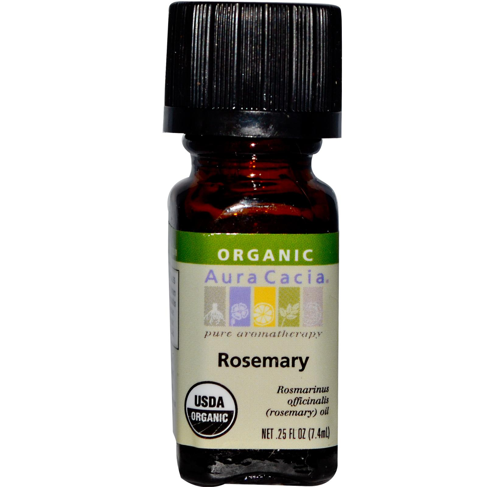 Organic Essential Oil - Aura Cacia - Rosemary rosemary organic essential oil