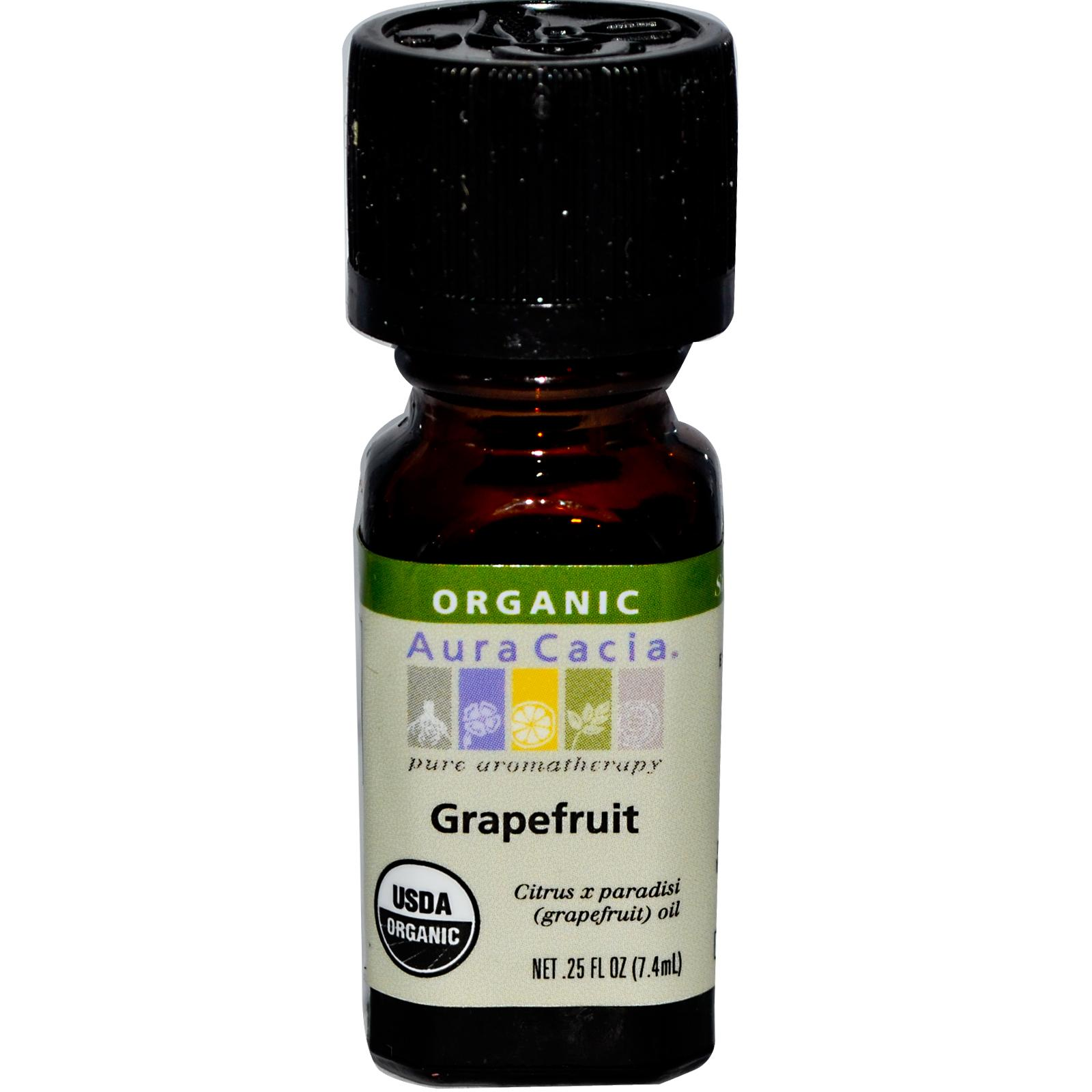 Organic Essential Oil - Grapefruit - 0.25 fl. oz.