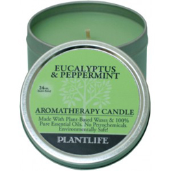 Plantlife Candle - Eucalyptus & Peppermint