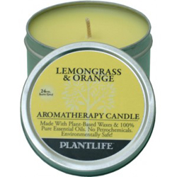 Plantlife Candle - Lemongrass & Orange