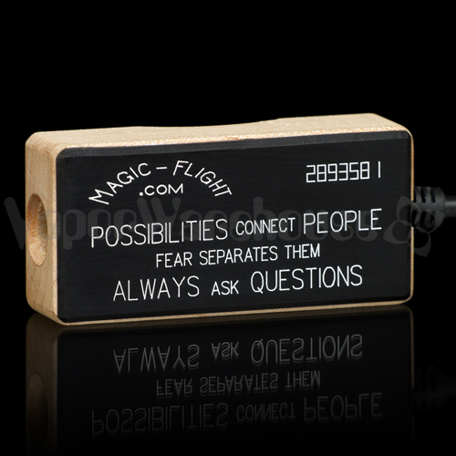 Magic Flight Power Adapter Reads Possibilities connect people fear separates them always ask questions